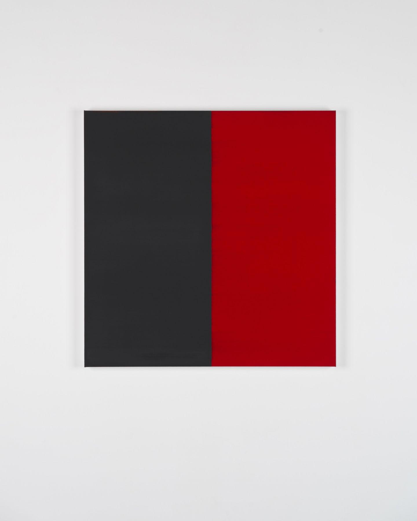 CALLUM INNES Untitled Lamp Black / Red No. 23, 2018