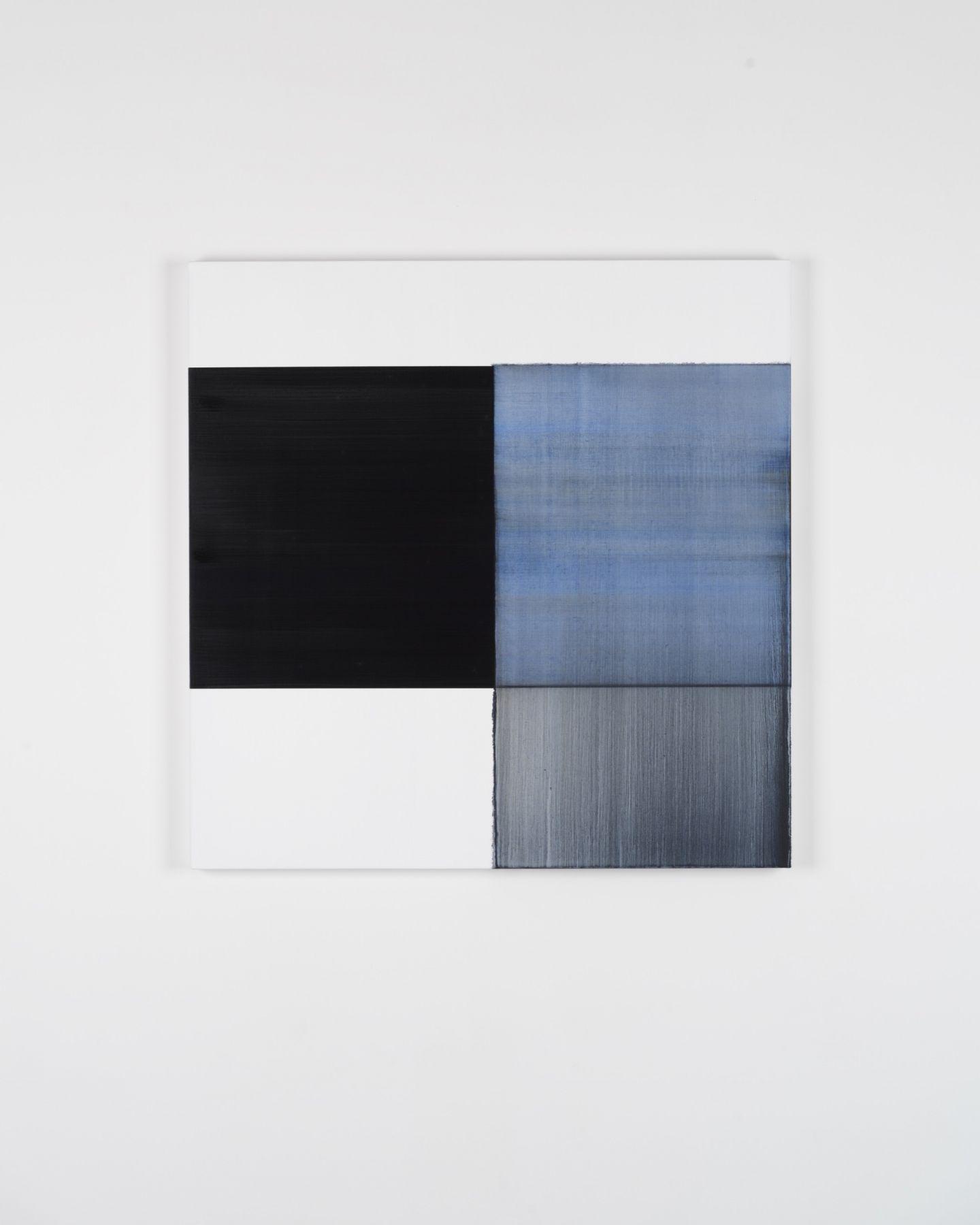 CALLUM INNES Exposed Painting Oriental Blue, 2018