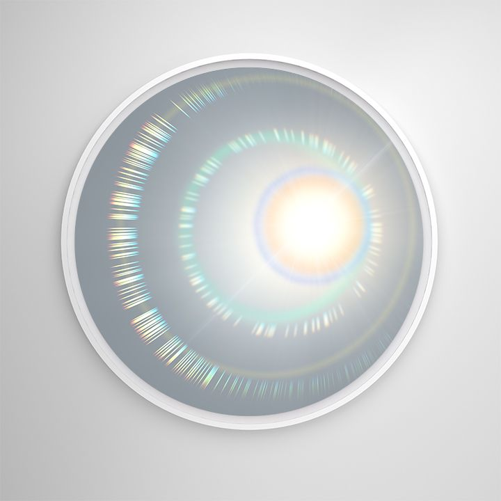 Radiant Being VI, 2019, UV cured pigment, Dibond and aluminum