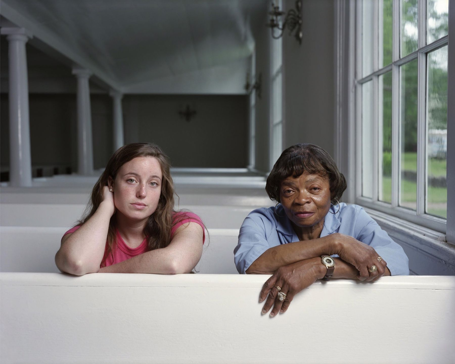 Paula Biegelson and Shirley Sims, 2010