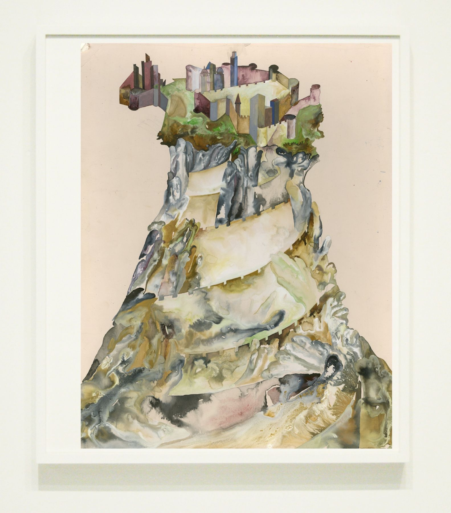 Shahzia Sikander Tower of Babel II, 2015-16