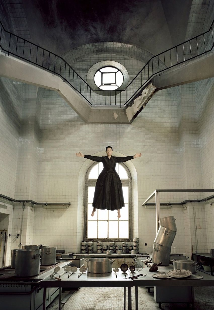 MARINA ABRAMOVIĆ The Levitation of Saint Therese, 2009