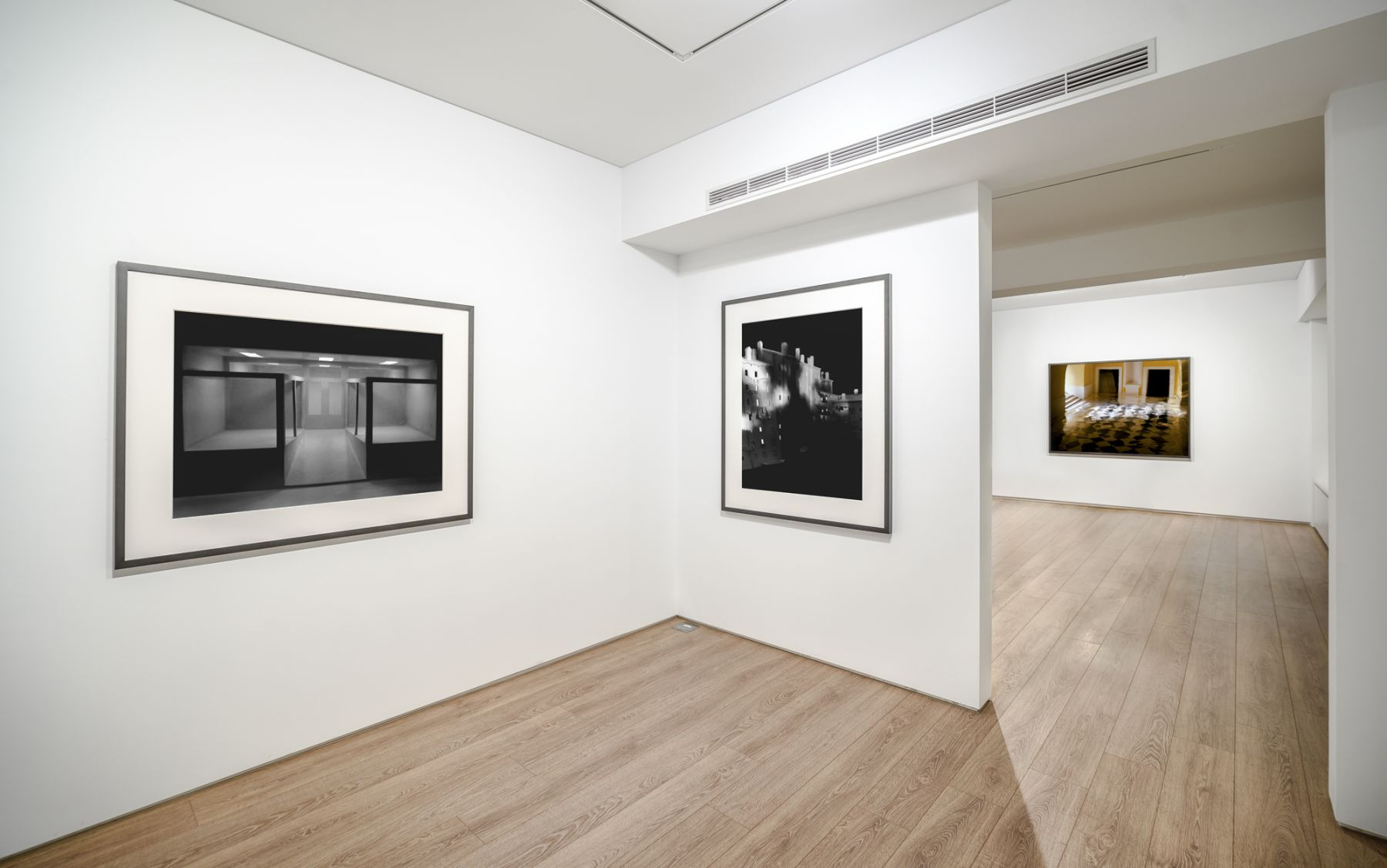 Installation view of James Casebere: Built Images at Sean Kelly Asia