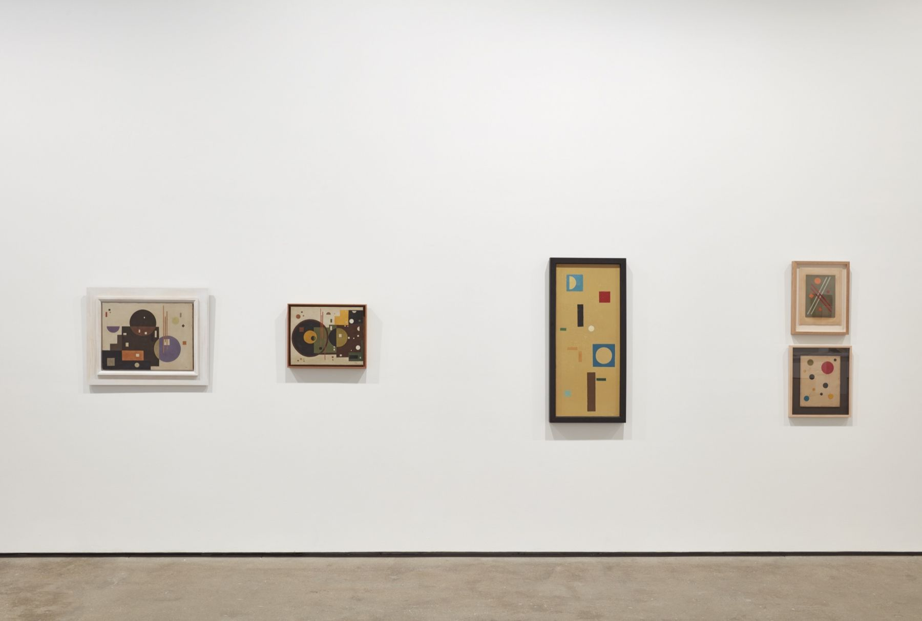Installation view of Constructing Her Universe: Loló Soldevilla at Sean Kelly, New York