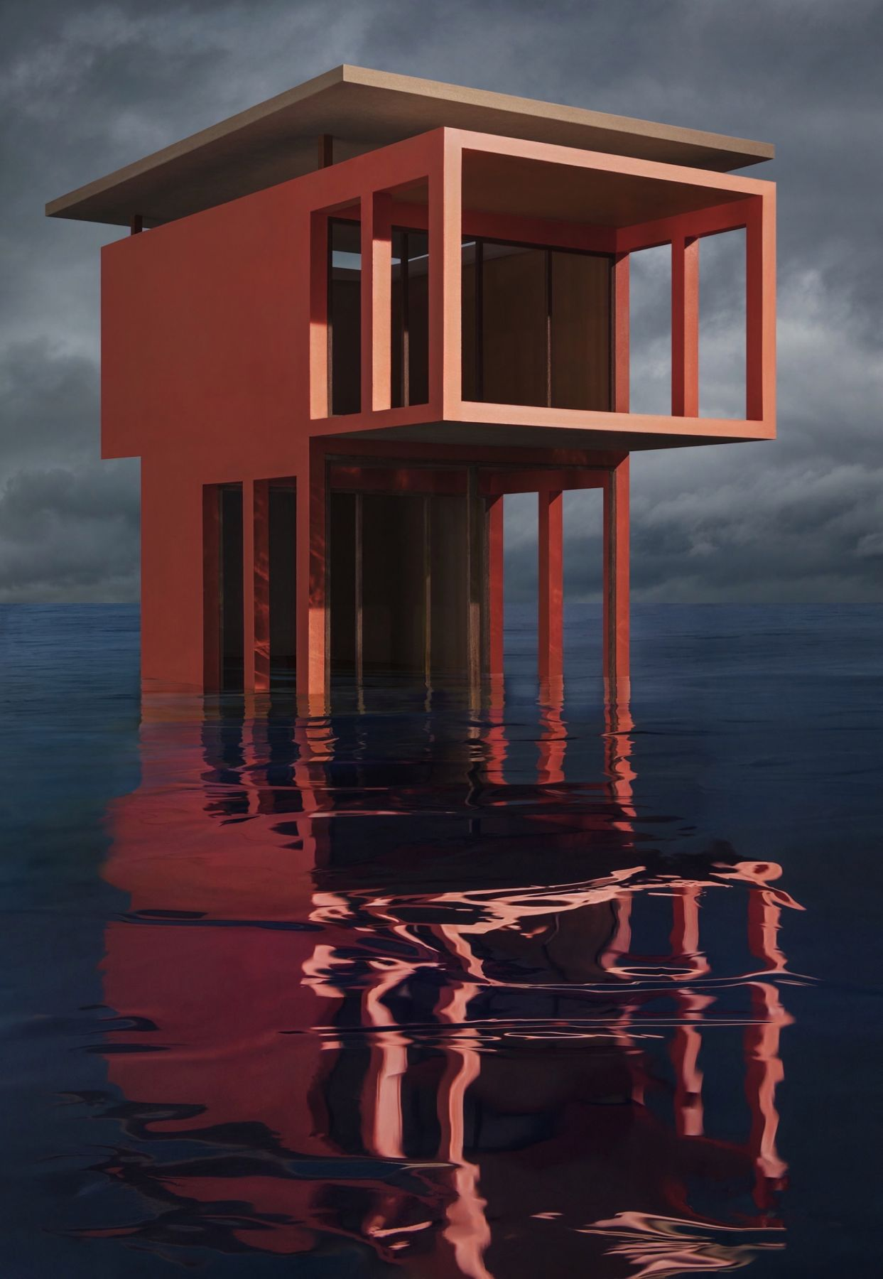 Red/Orange Solo Pavilion, 2018