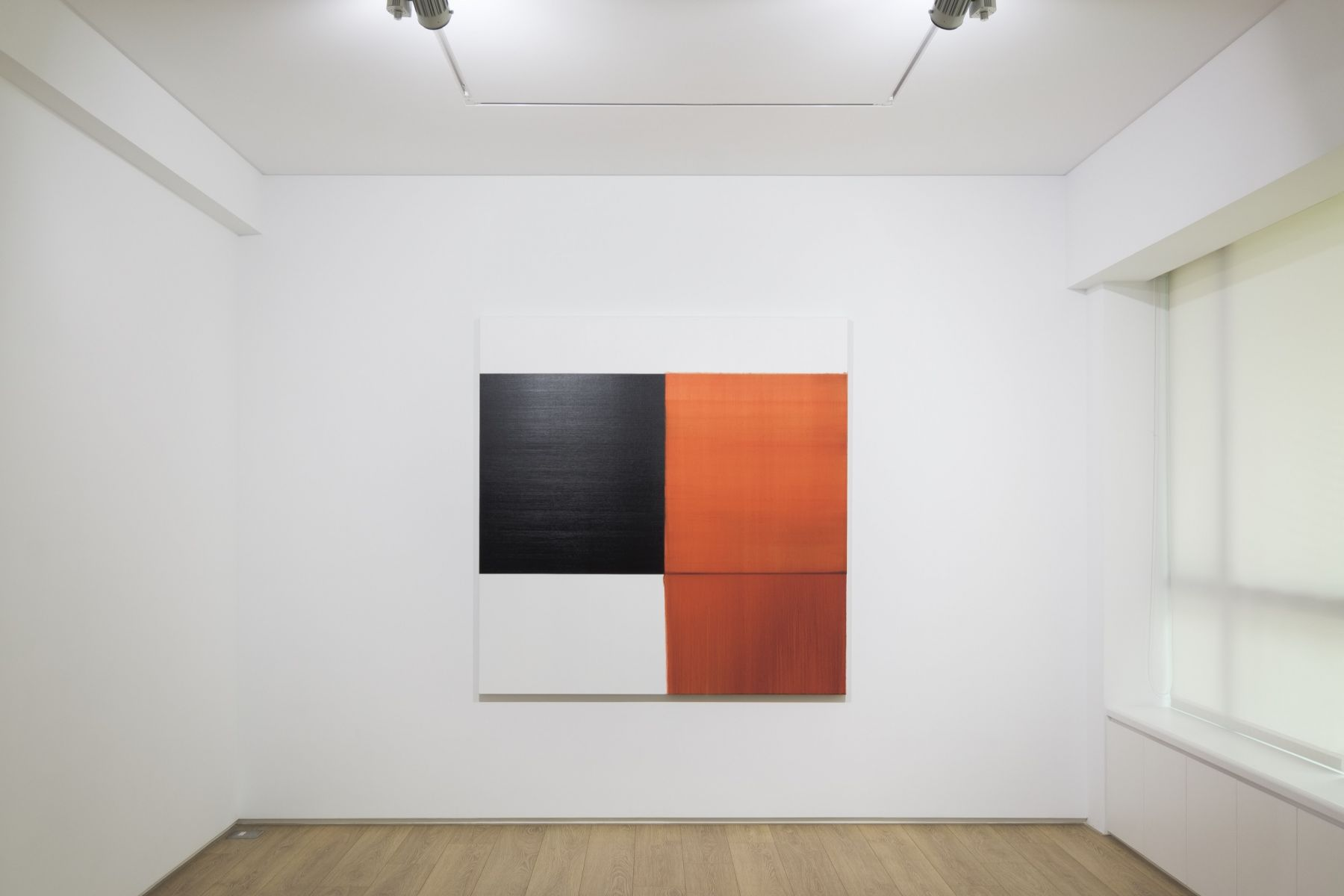 Installation view of Callum Innes at Sean Kelly Asia