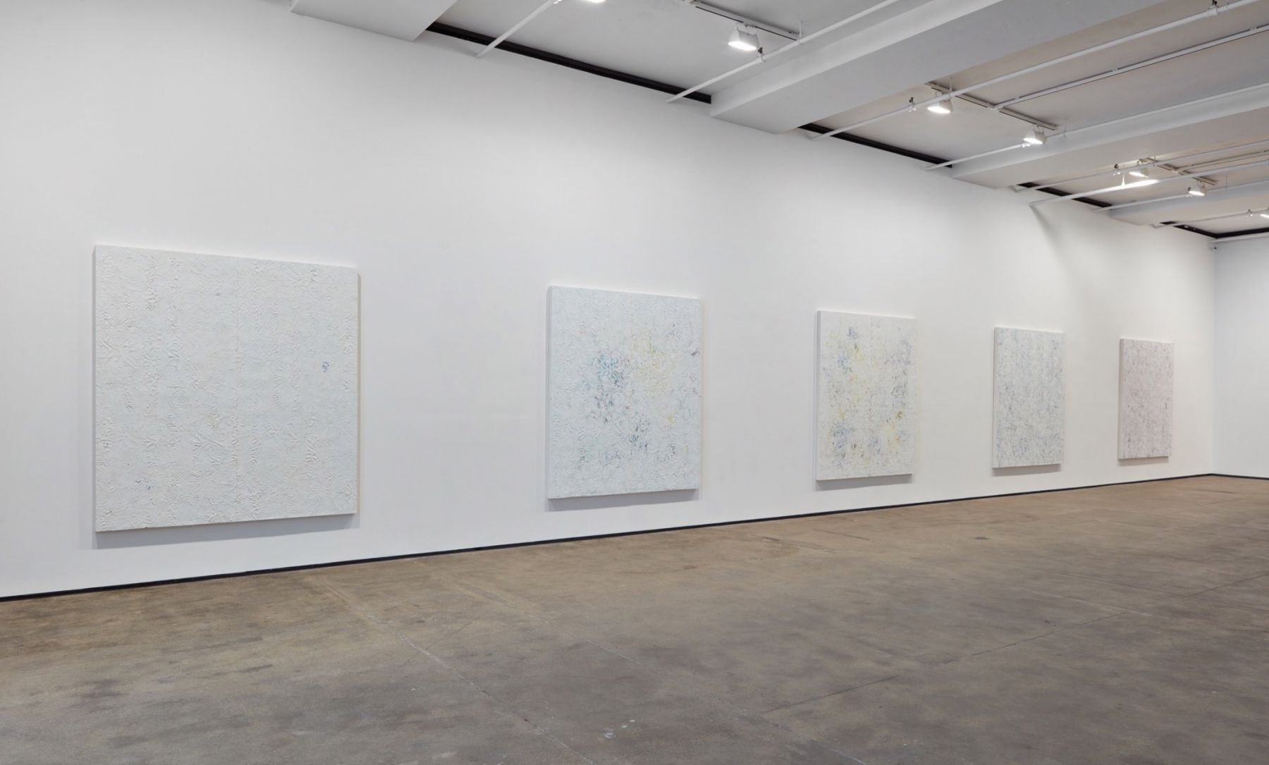 Installation view of Hugo McCloud: Veiled at Sean Kelly, New York