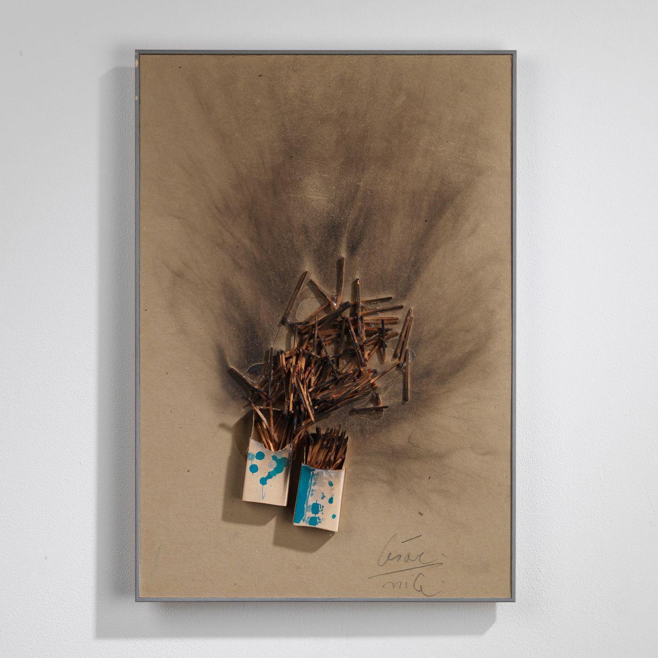 César | Combustion d'Allumettes, c. 1970