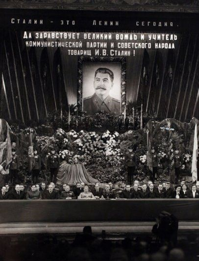 Long Life to Comrade Stalin, Bolshoi Theater, 1948