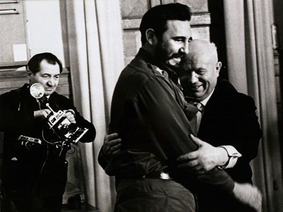 """Khrushchev and Castro, Moscow,"" 1963"