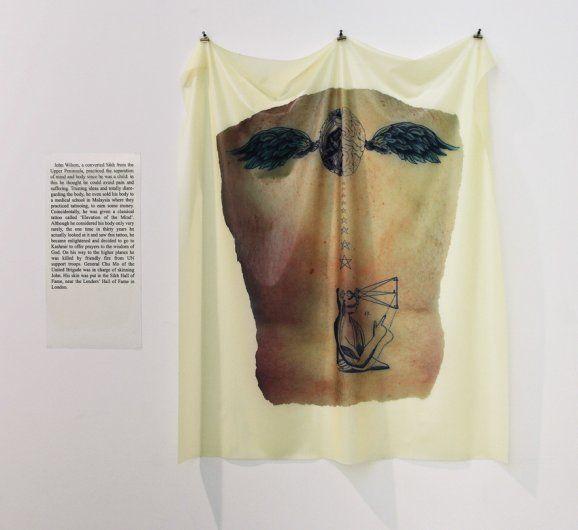 Skin #8, John Wilson, 2010