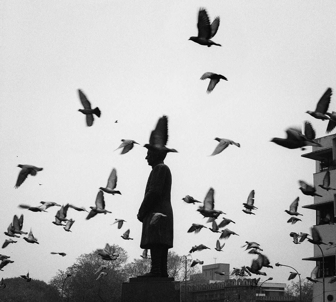 Pentti Sammallahti (b. 1950, Helsinki), Delhi, India, 1999