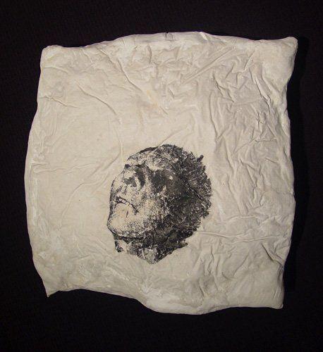 Pillow (Man, front), 1996