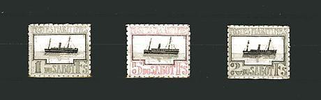 Donald Evans Sabot. Poste Maritime.