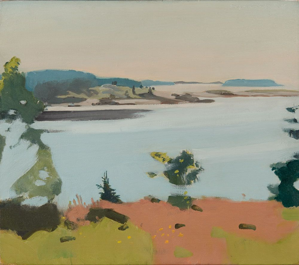Fairfield Porter, Islands, 1968