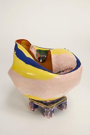 Mellowphobic 2013 clay, glaze