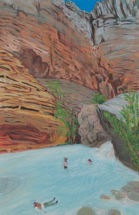 Sarah McEneaney Havasu Creek, 2014