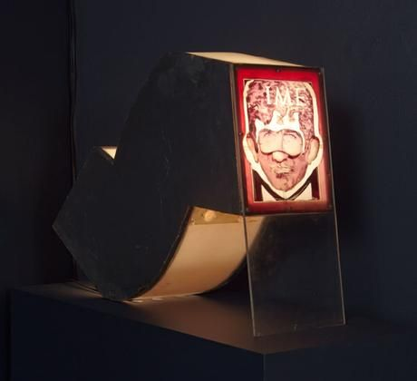 Norman Mailer Time Cover Lamp
