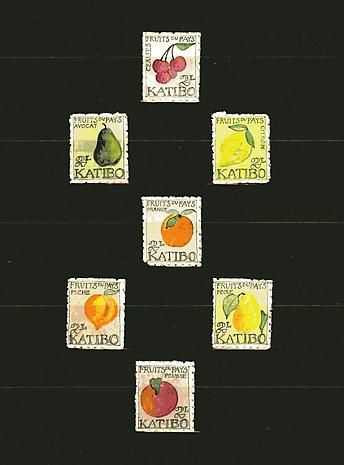 Doanld Evans 1949. Katibo. Fruits.
