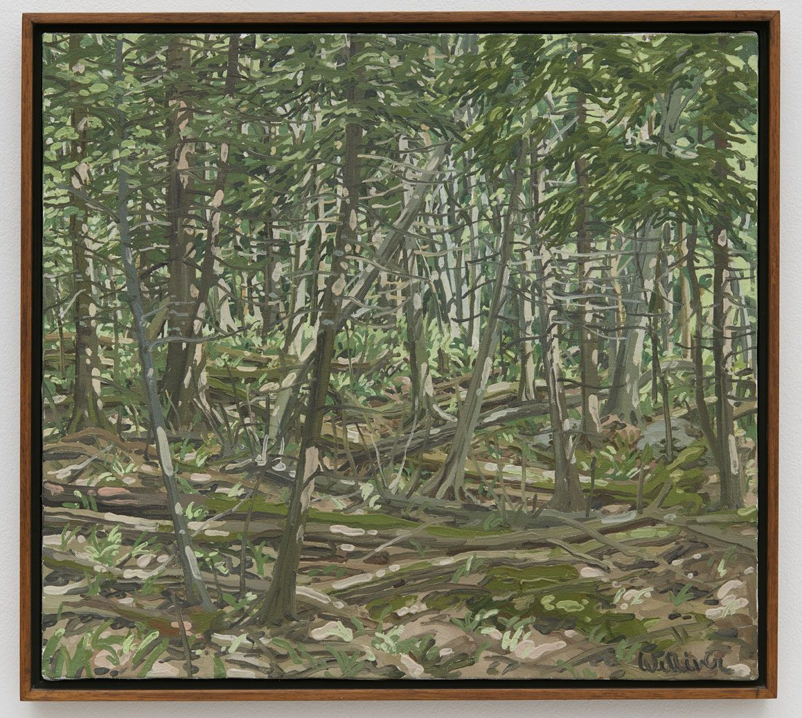Neil Welliver Study for Polly's Place, 1982