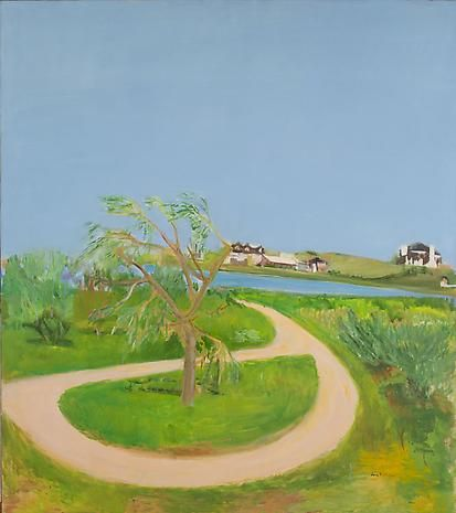 Turnaround 1965 oil on canvas