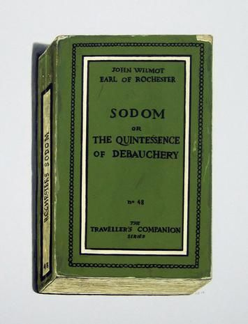 Sodom or The Quintessence of Debachery