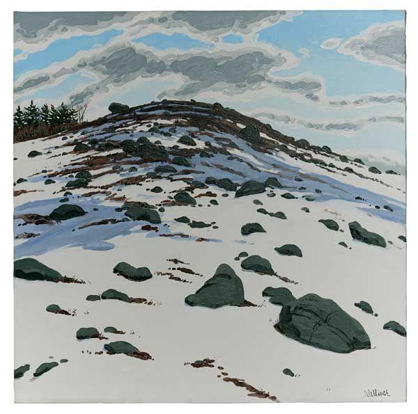 Neil Welliver Shadow on Frankfort Barren, 1982