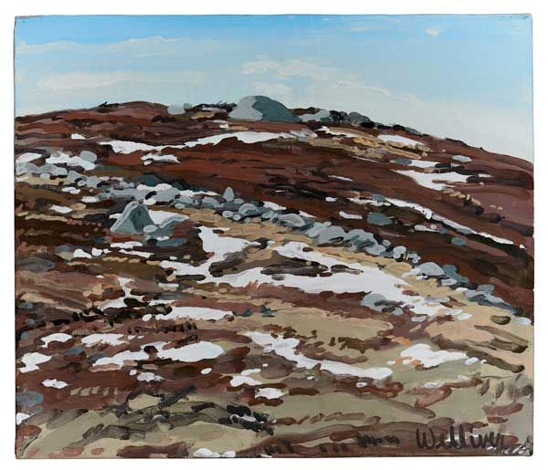 Study for Barren with Snow, 1989