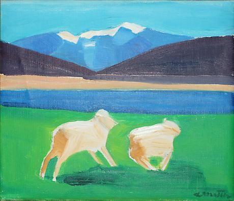 Sheep Running 1994
