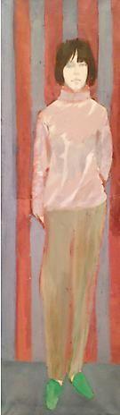 Daniel Brustlein Standing Girl (Hermine)