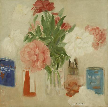 Peonies 1965 oil on canvas