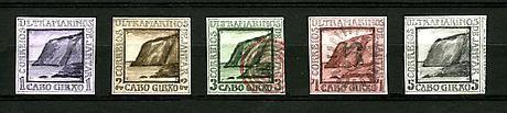 Donald Evans Cape Girao, 1852.  View of Cape Girao