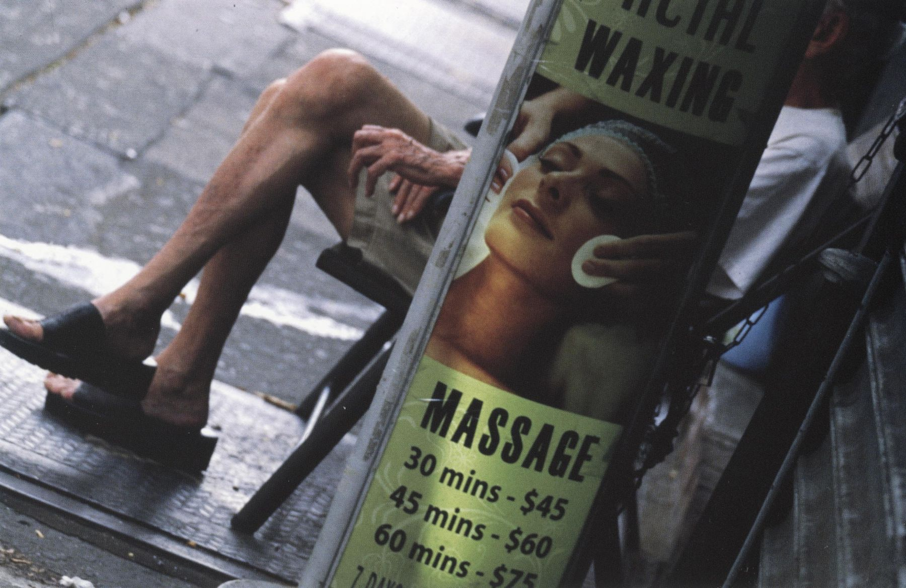 Louis Stettner Massage 9th Avenue, 2011