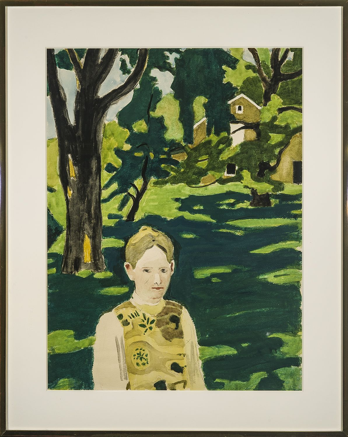 Fairfield Porter, Under the Elm, c. 1971