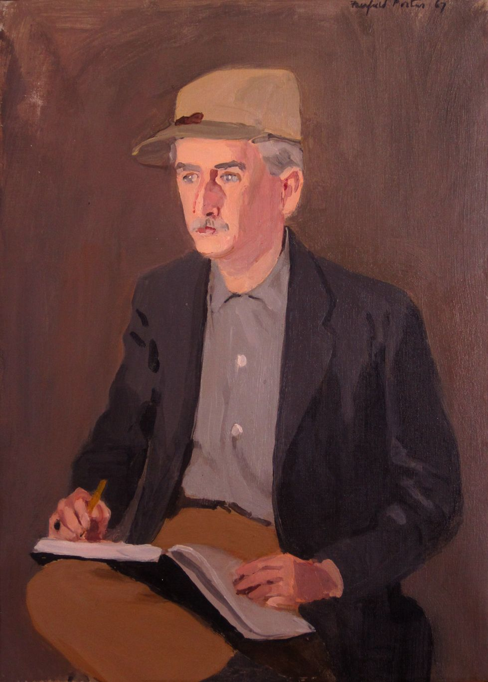 Fairfield Porter, Portrait of Don Cord, 1967