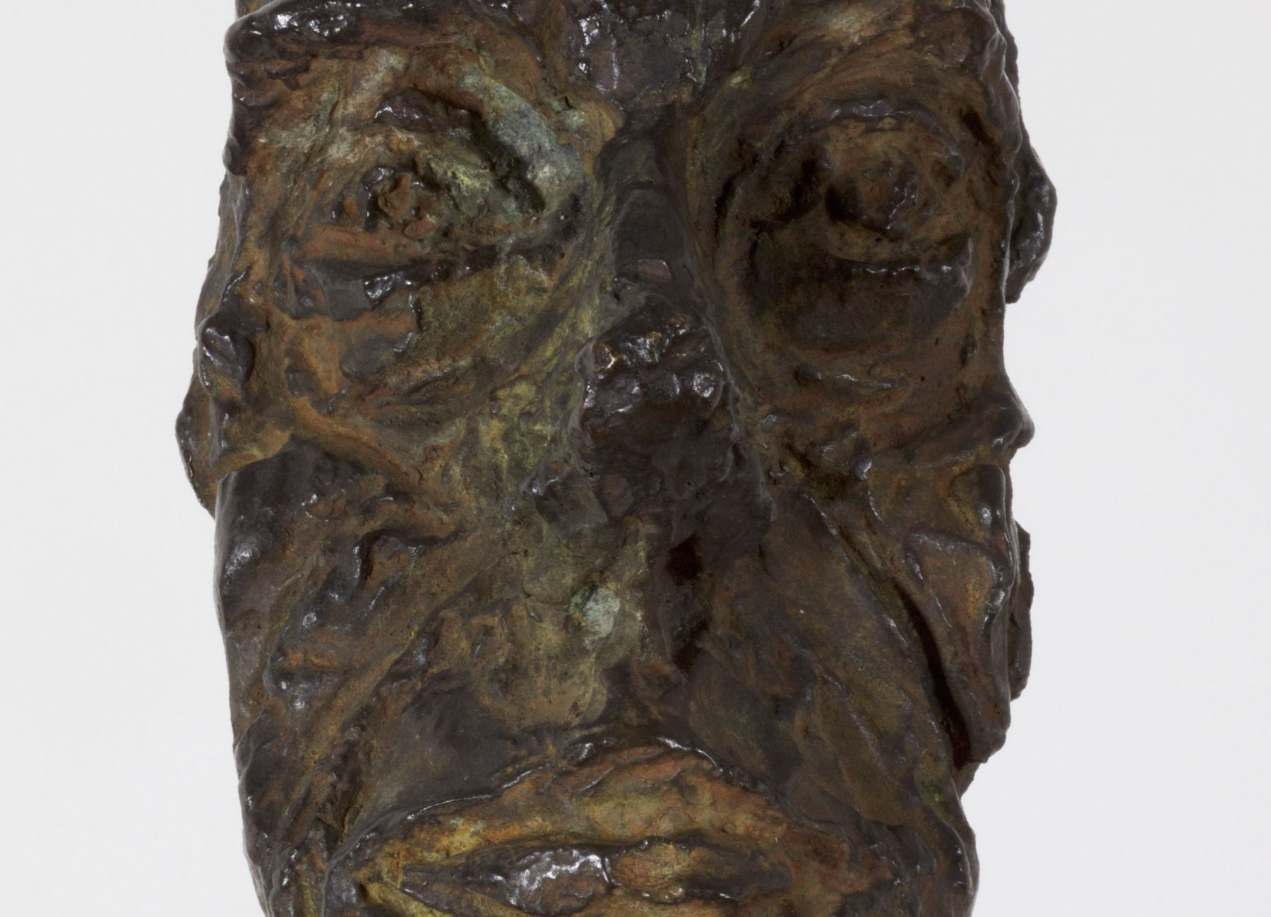 Alberto Giacometti, Buste d'homme (New York II), conceived in 1965 and cast in 1972 (detail)