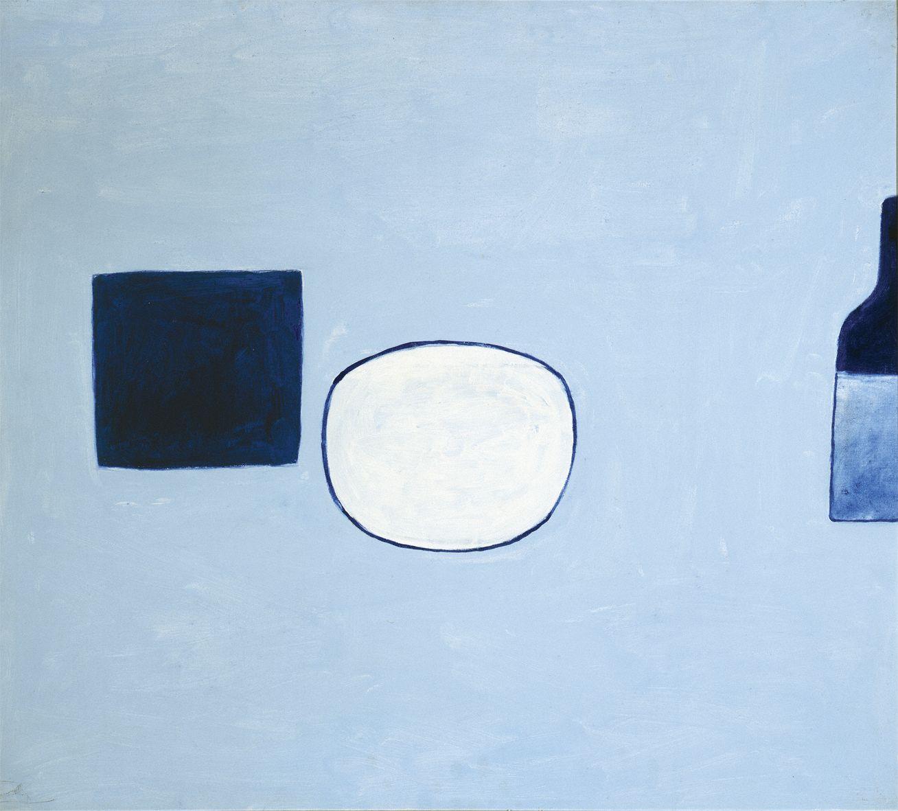 "William Scott, Poem for a Jug #21, 1980, 32"" x 36"""