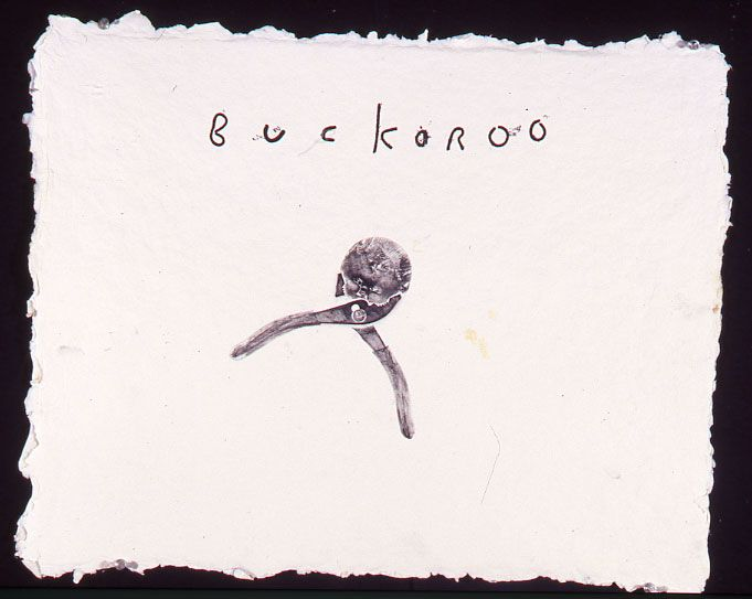 "David Lynch, Untitled (#20, ""Buckaroo"")"