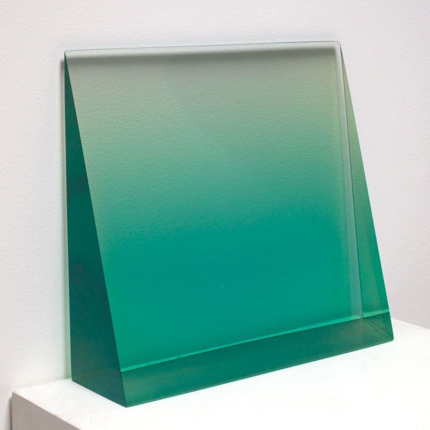 Peter Alexander, Untitled (Green Wedge), 1967