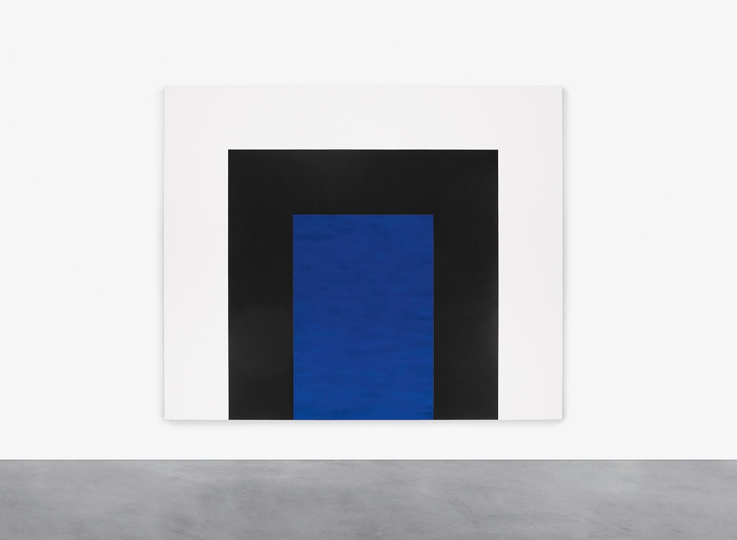 Mary Corse, Untitled (Blue Double Arch), 1998
