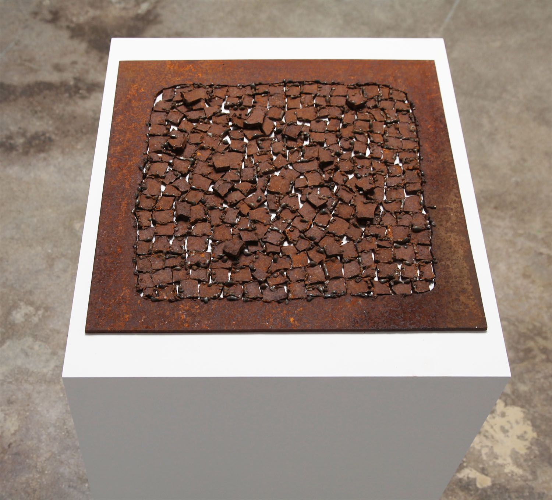 Jiro Takamatsu Oneness of Rust, 1972