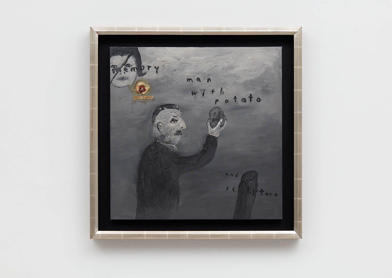 David Lynch Man with Potato, 2015