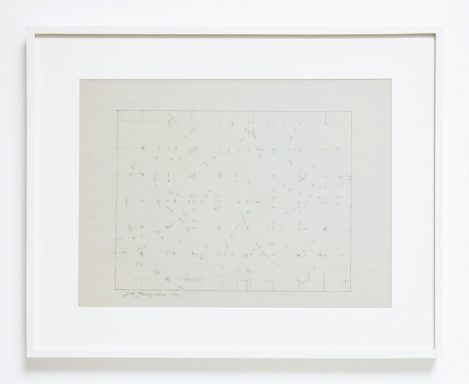 Jiro Takamatsu Space in Two Dimensions, 1977