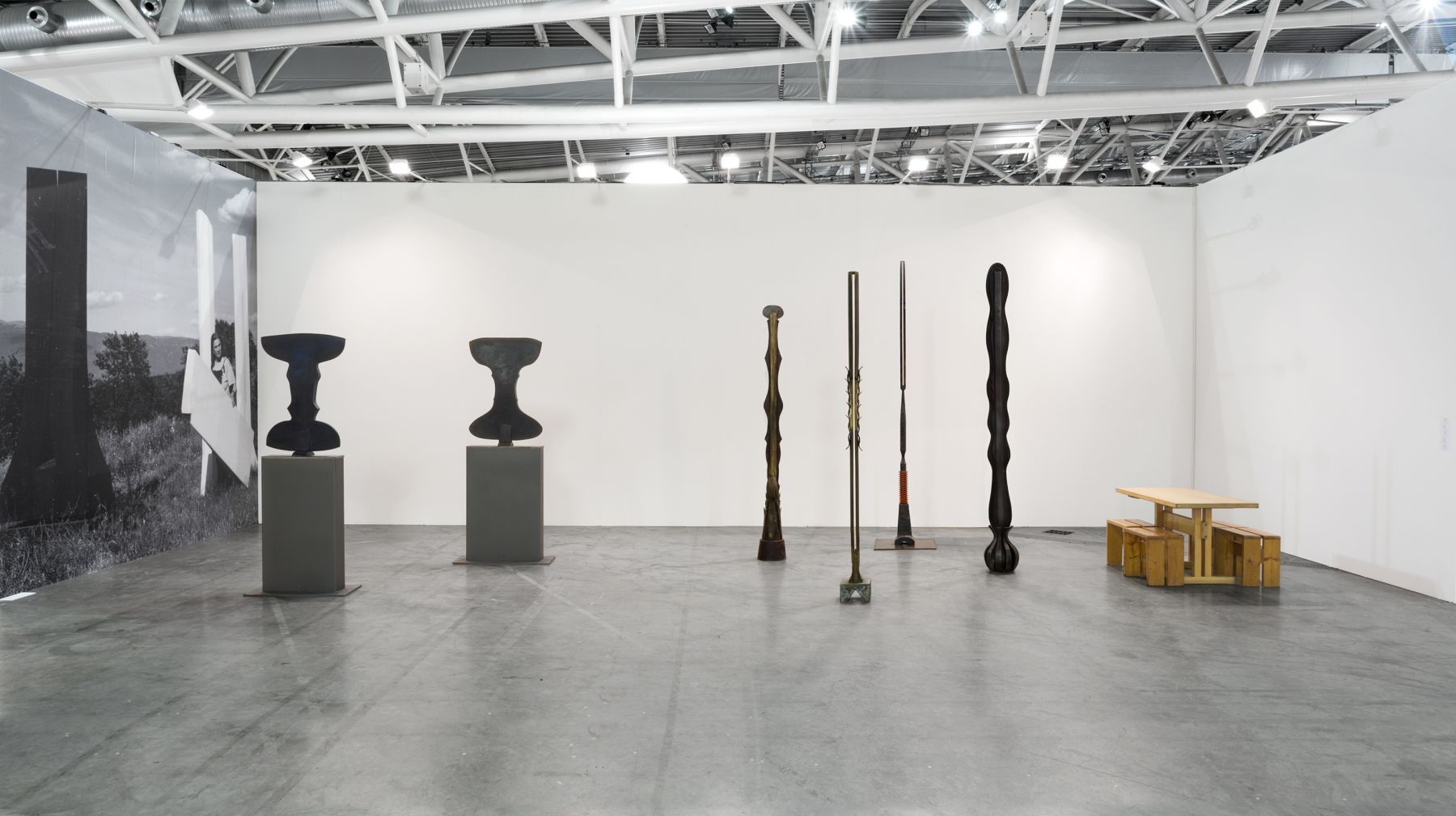 Installation view of Beverly Pepper at Artissima 2017