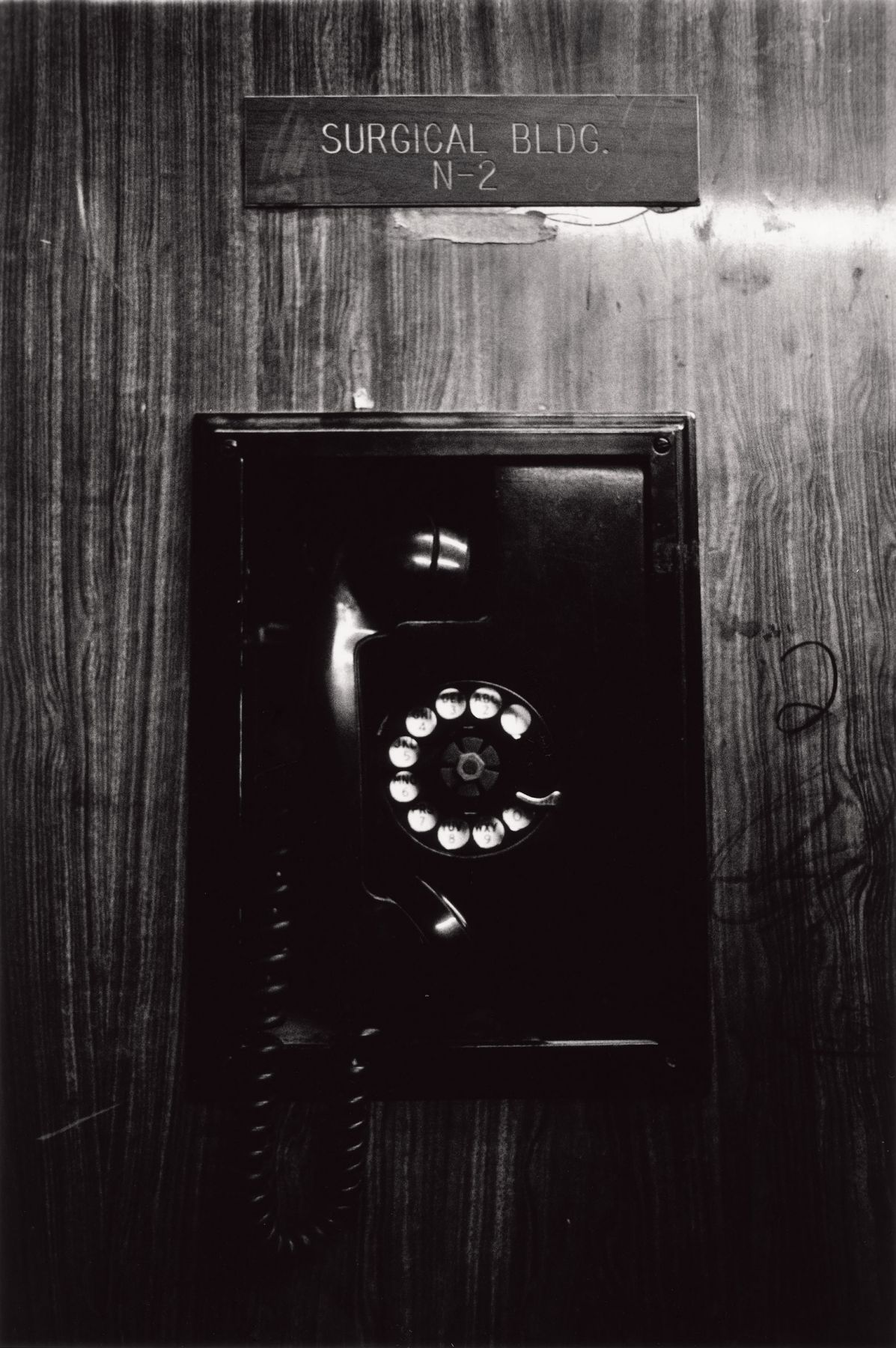 David Lynch, Untitled (Industrial, New Jersey), 1986 Black and white photograph 19 x 23 5/16 inches
