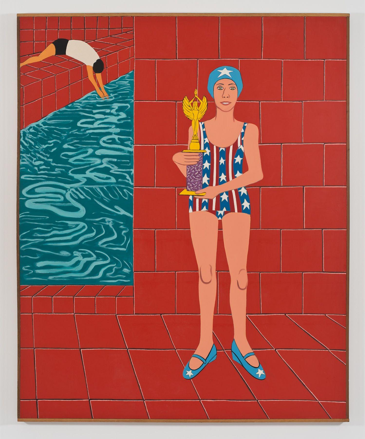 Joan Brown,, The Bicentennial Champion, 1976