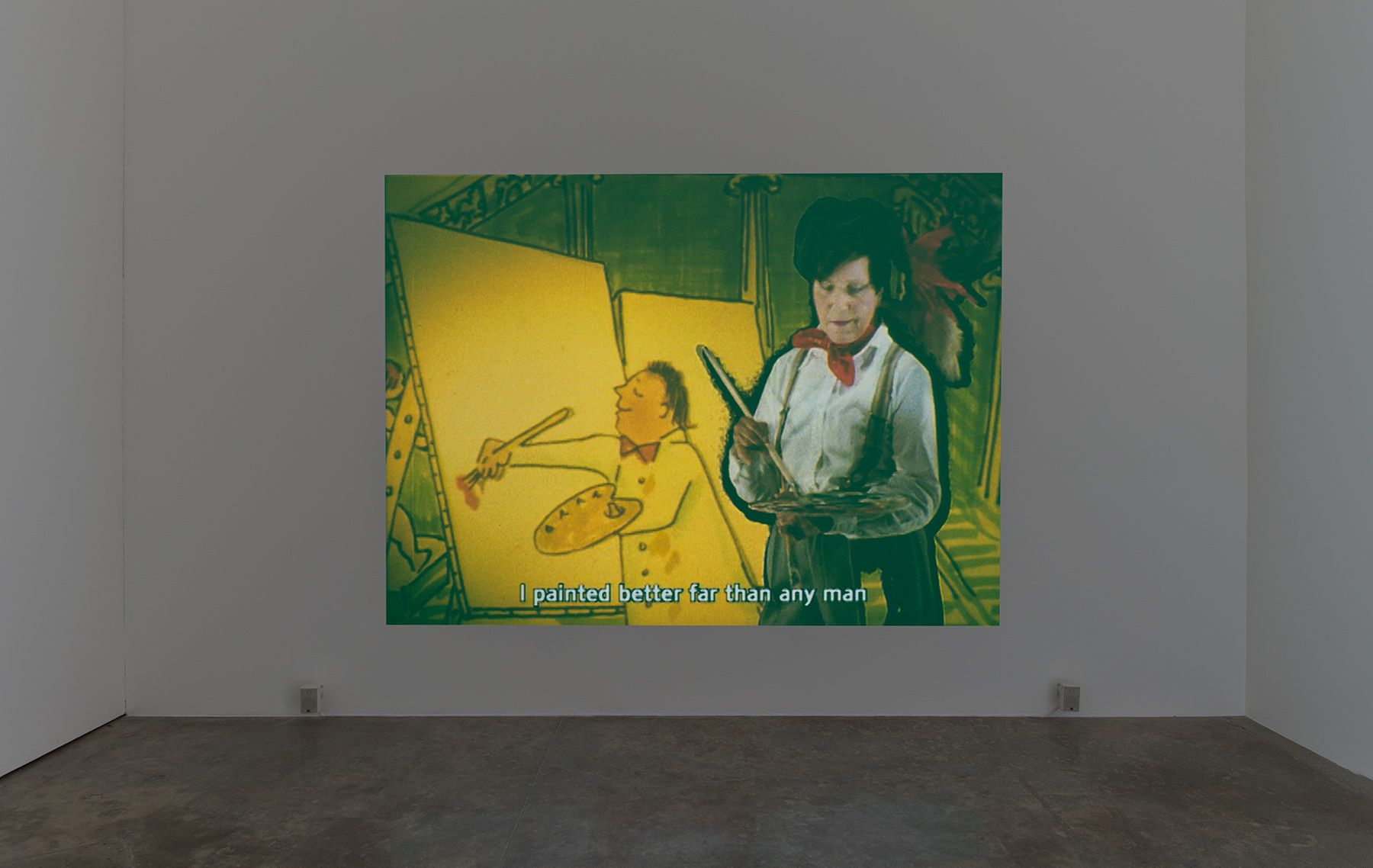 Maria Lassnig, Maria Lassnig Kantate, 1992
