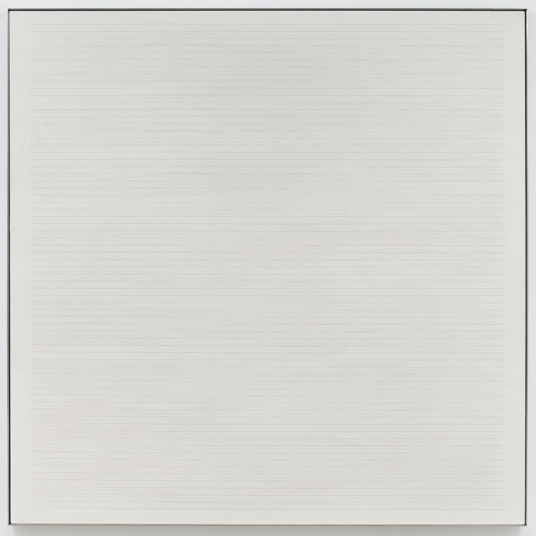 Agnes Martin Untitled #7, 1984
