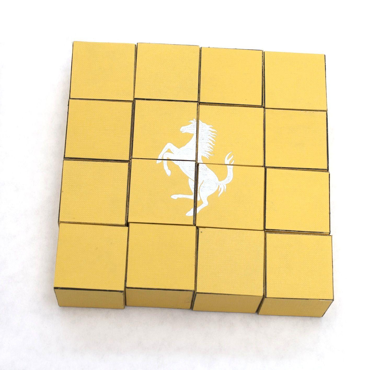 Giulia Piscitelli  Ferrari puzzle, 2014