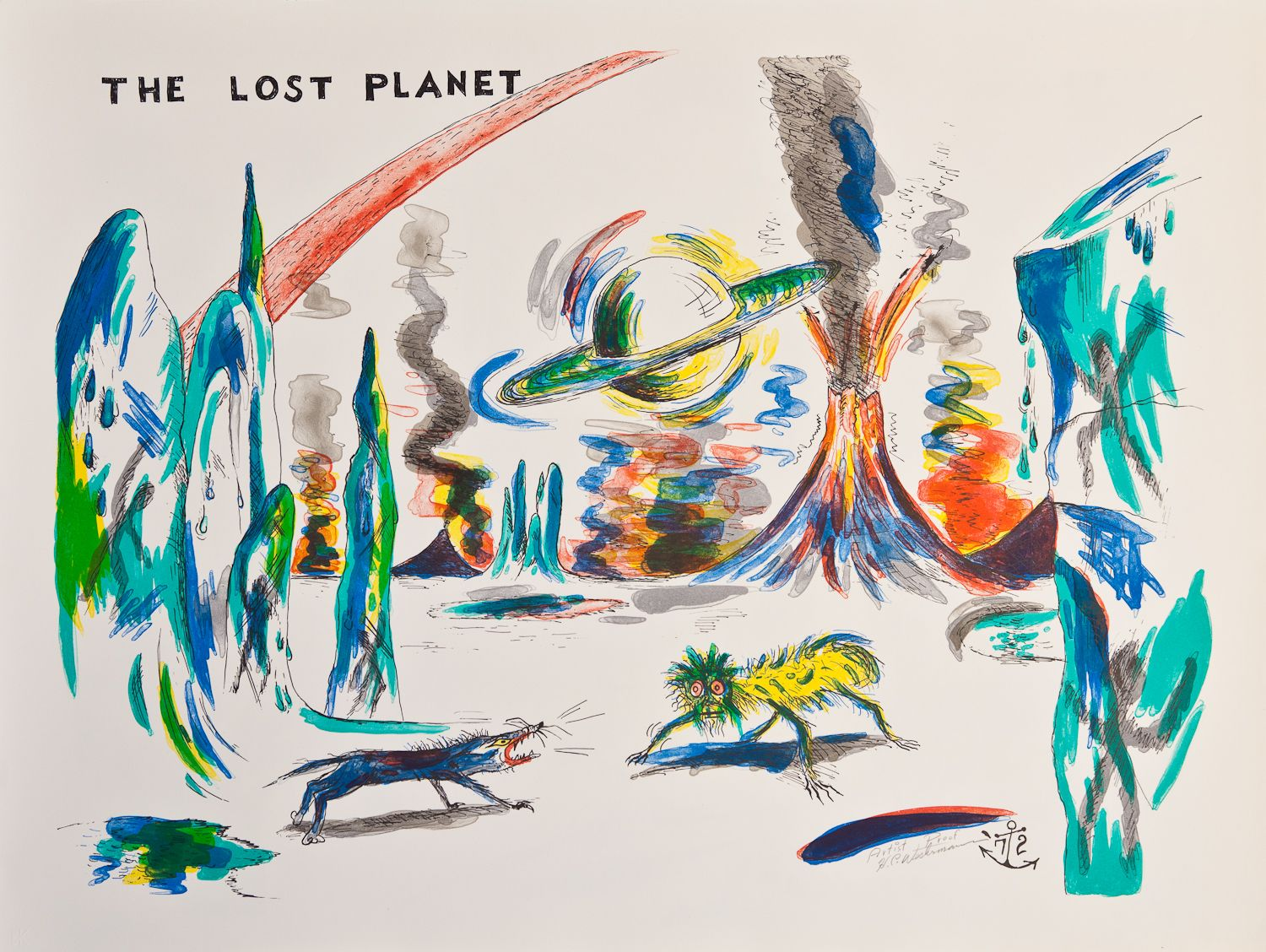 H.C. Westermann, The Lost Planet